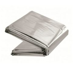 Emergency survival foil blanket