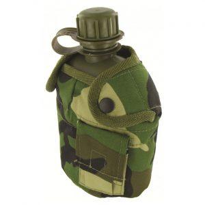 950ml Patrol Water Bottle & Camouflage Case