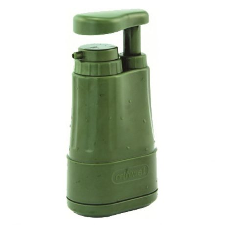 Miniwell 1000L pump action water filter