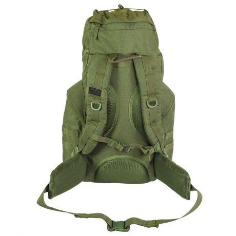 New Forces 44 Rucksack – Olive Green (Back)