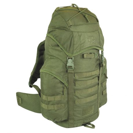 New Forces 44 Rucksack – Olive Green (Front)
