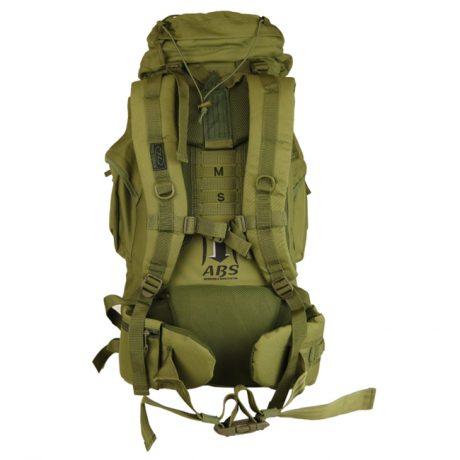 New Forces 66 Rucksack – Olive Green (Back)