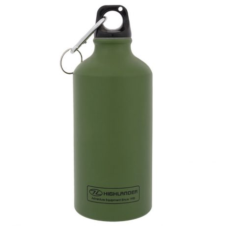 bottle-water-0.5l-500ml-olive-green-alu-aluminium-hydration
