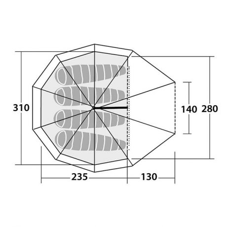 Robens-Green-Cone-4-Drawing-Floorplan3