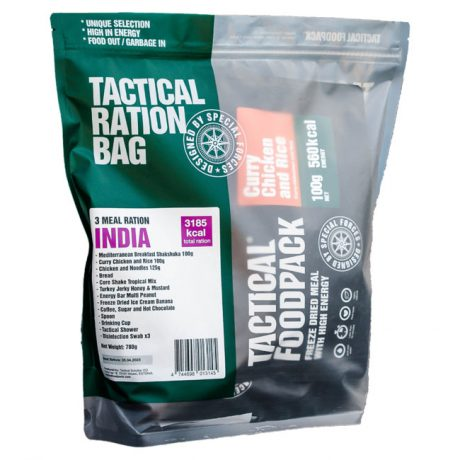 3 Meal Ration India