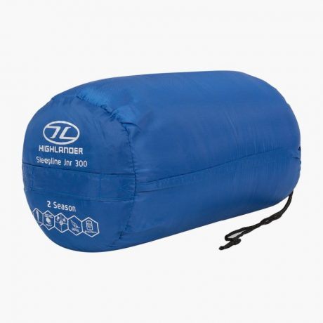 HIGHLANDER-SLEEPLINE-JNR-MUMMY-SLEEPING-BAG-BLUE-4
