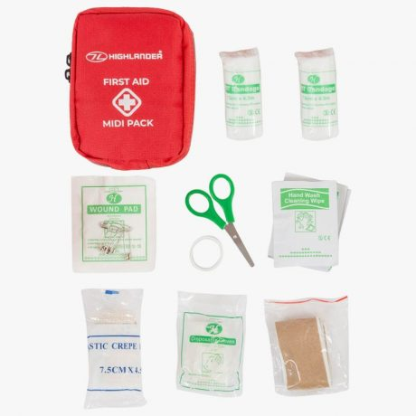 HIGHLANDER-FIRST-AID-PACK-MIDI-RED-MEDIUM-KIT-TRAVEL-1