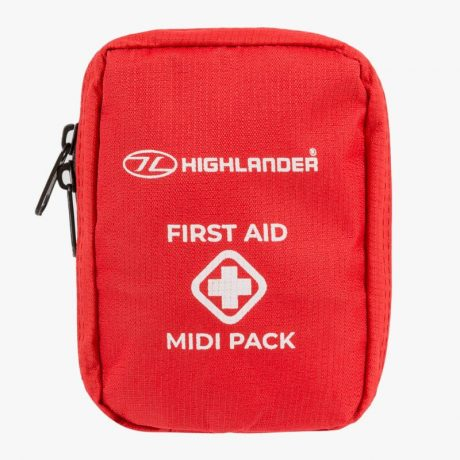 HIGHLANDER-FIRST-AID-PACK-MIDI-RED-MEDIUM-KIT-TRAVEL