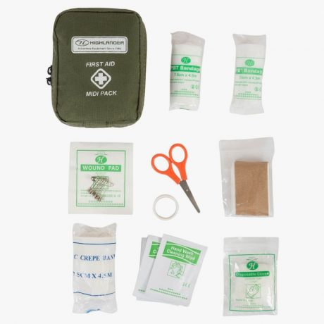 HIGHLANDER-MILITARY-FIRST-AID-KIT-MIDI-PACK-GREEN-1