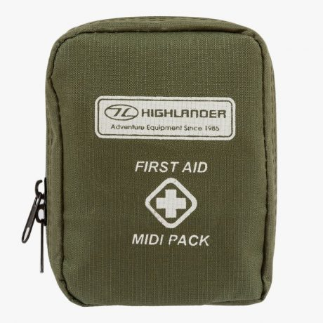 HIGHLANDER-MILITARY-FIRST-AID-KIT-MIDI-PACK-GREEN